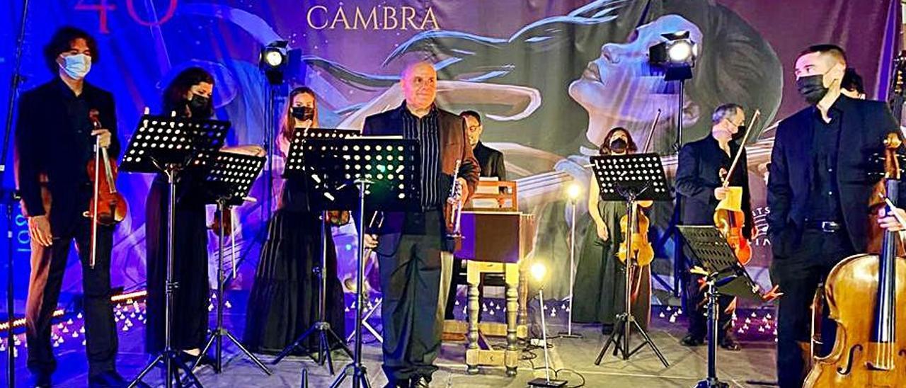 Campos, Palomares y los solistas de Covent Garden. | LEVANTE-EMV