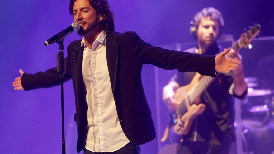 Manuel Carrasco anuncia un concierto en A Coruña