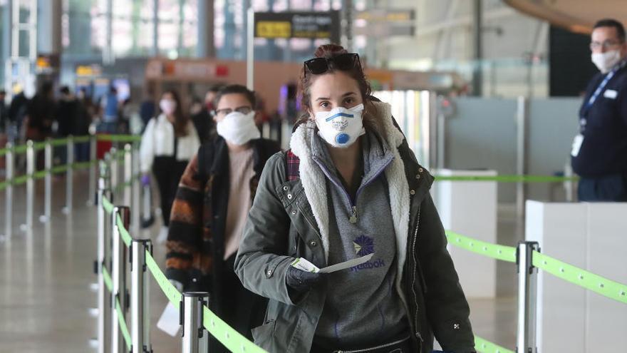 El coronavirus reduce un 46,7% el uso del transporte público en 2020