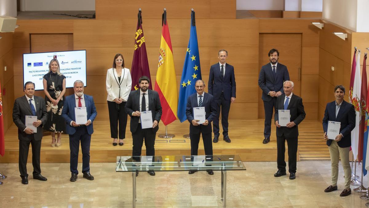El Pacto para la Reactivación Regional apuesta por el emprendimiento