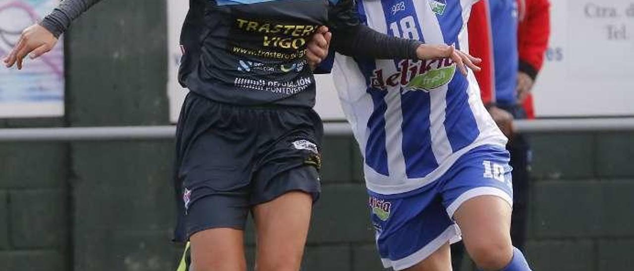 El derbi de la pasada temporada, disputado en Segunda División. // Alba Villar