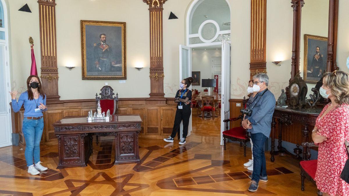 Visita guiada al Ayuntamiento de Cartagena