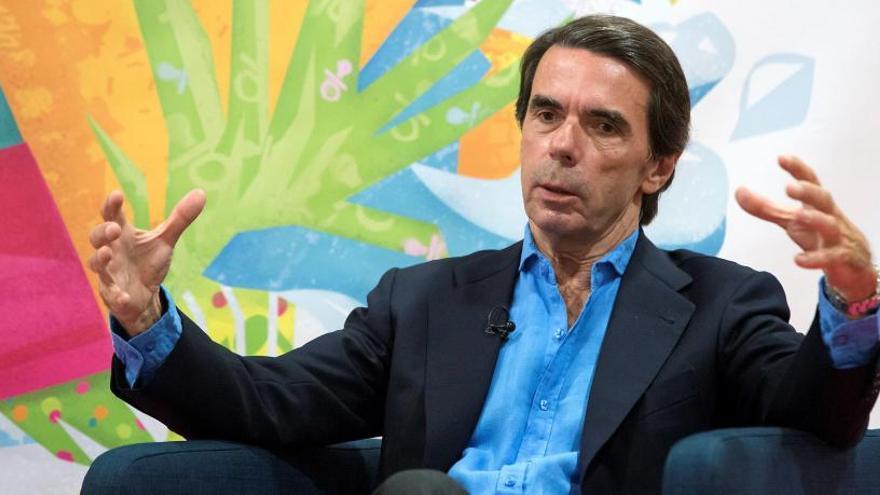 Aznar a estribor