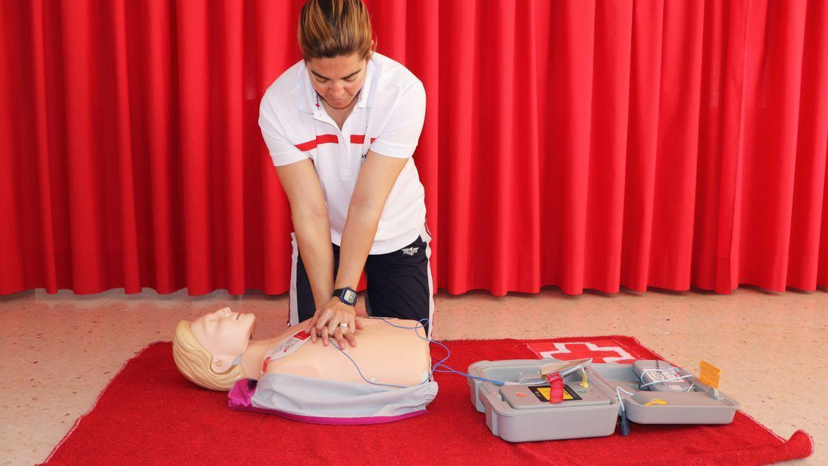 Curso de primeros auxilios.