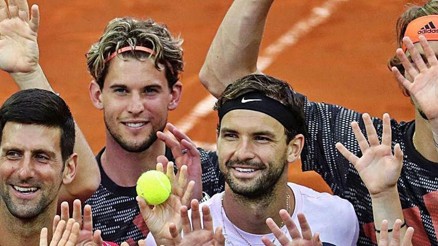 Coric y el entrenador de Djokovic también dan positivo