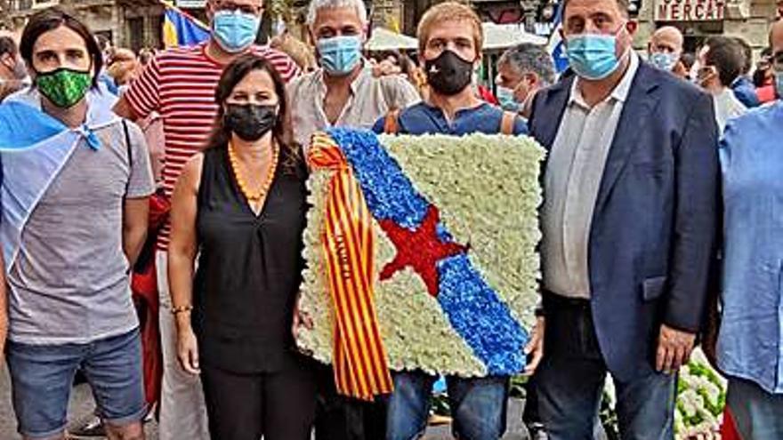 El BNG participa en los actos de la Diada en apoyo del soberanismo