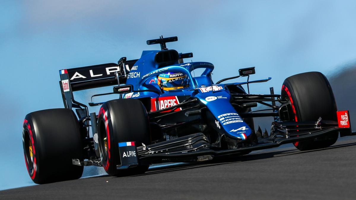Horarios del GP de Francia de F1 en el circuito Paul Ricard.