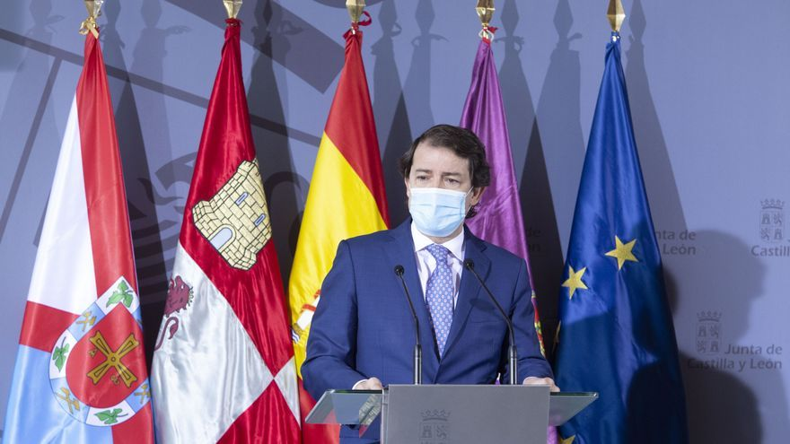 Mañueco anuncia la recuperación de los equipos COVID en las residencias en Castilla y León