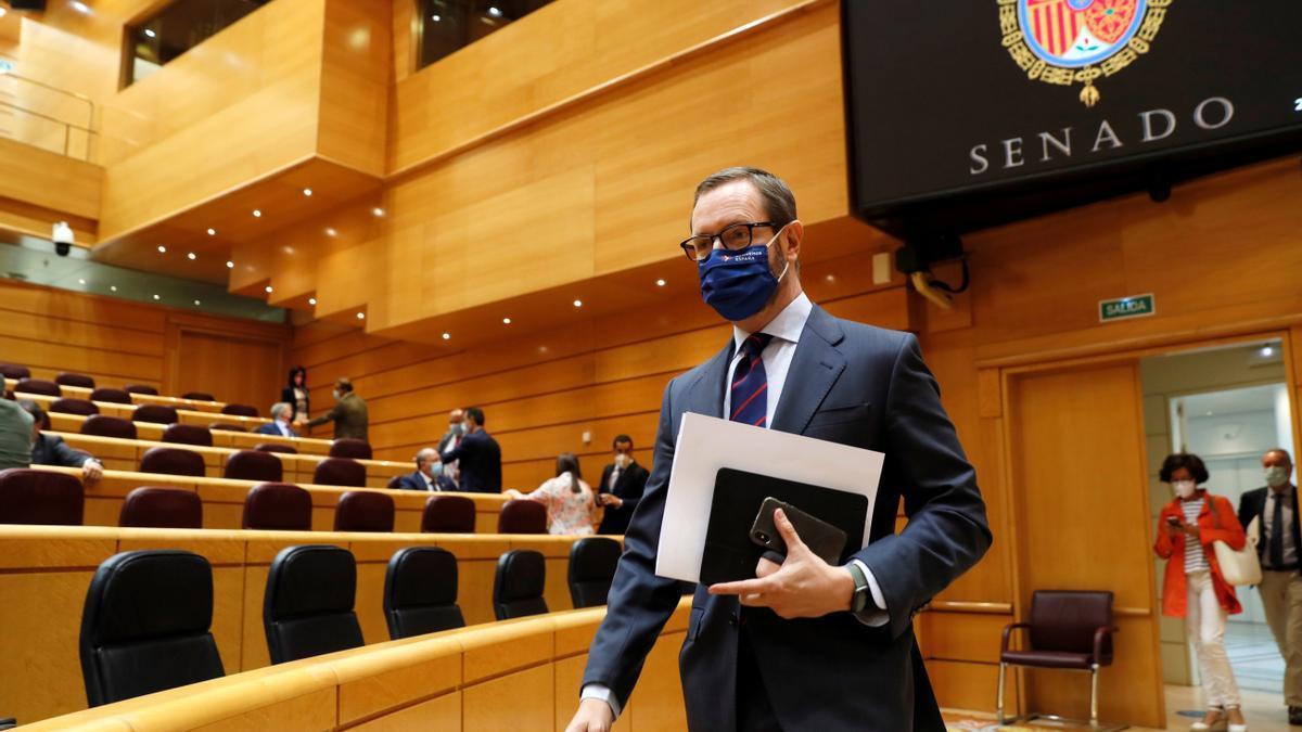 Javier Maroto, en el Senado.