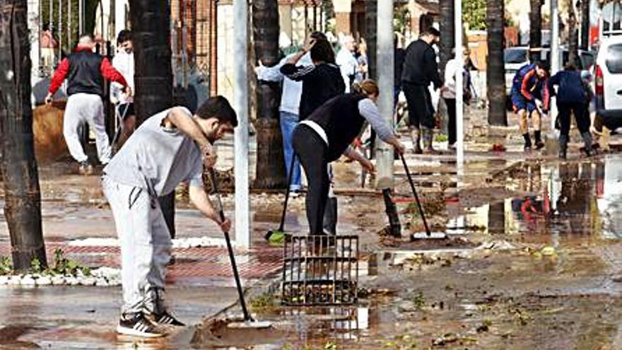 Sigue abierta la convocatoria para que Málaga reclame los daños de la borrasca Gloria