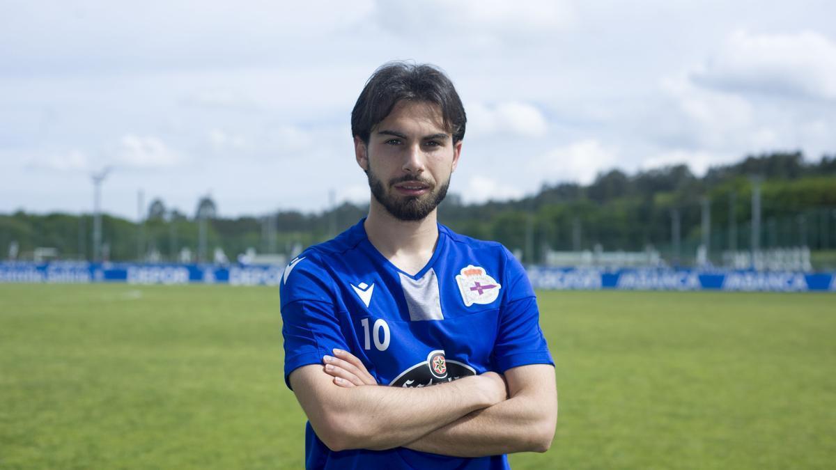 José Alonso Lara, en la ciudad deportiva.