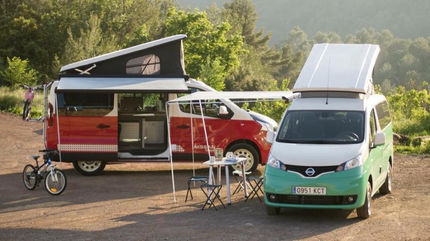 Nissan Camper, la furgoneta perfecta para viajar en verano y sentirte como en casa