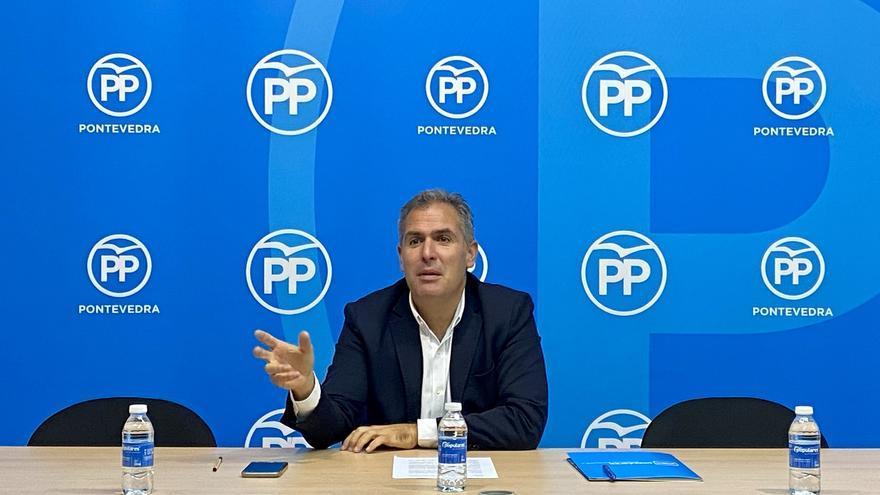 """Domínguez: """"Entiendo que a Feijóo le valga que Ence se quede en Galicia, pero a mí no; quiero que se quede en Pontevedra"""""""