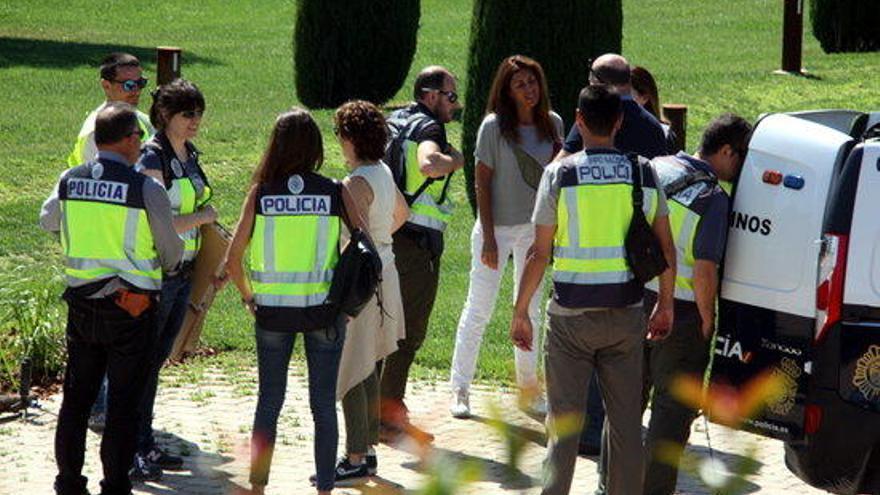 Finalitza l'escorcoll a la casa de Sandro Rosell a Corçà
