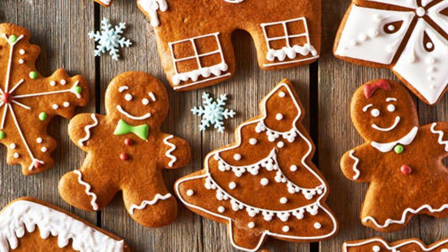 Unas ricas galletas navideñas