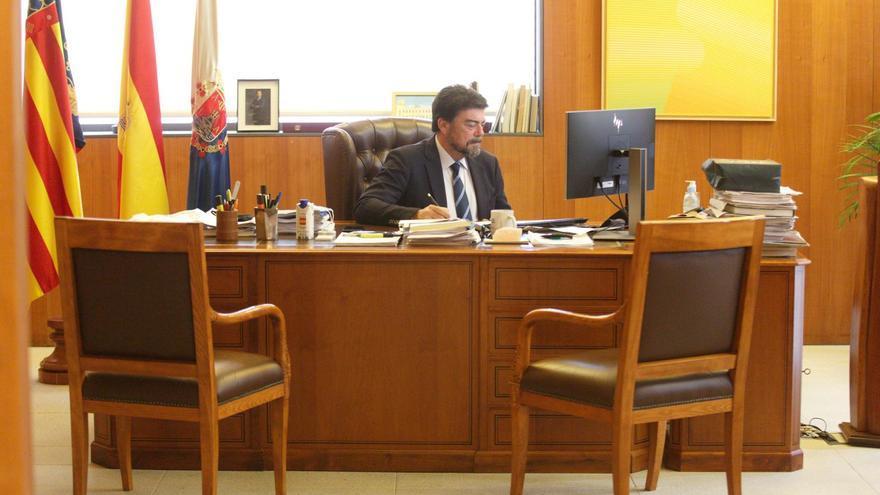 Directo | Pleno ordinario del mes de enero del Ayuntamiento de Alicante