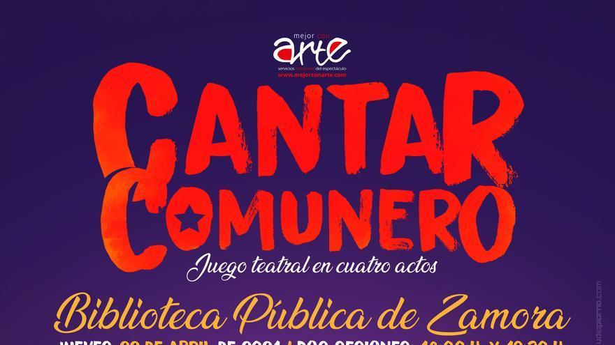 """El """"Cantar Comunero"""" se estrena en la Biblioteca de Zamora"""