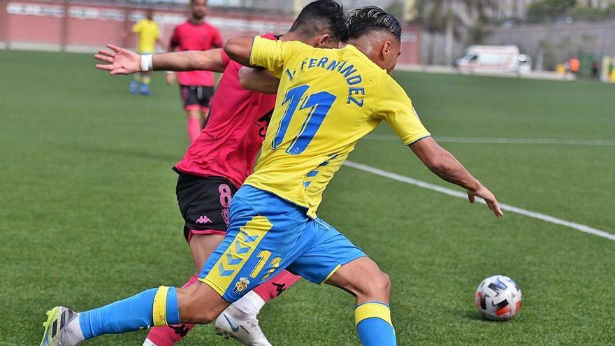Las Palmas Atlético certifica su primera victoria del curso