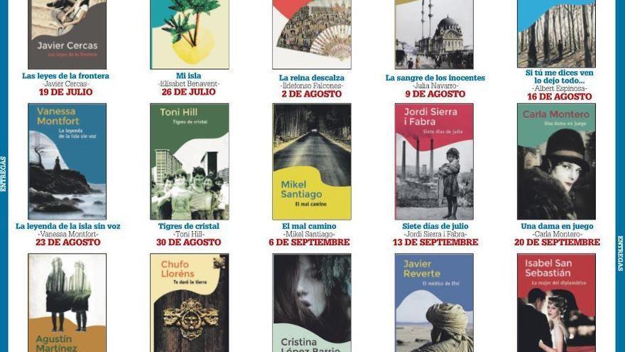 Cada domingo, una novela por 5,95 euros con LA OPINIÓN