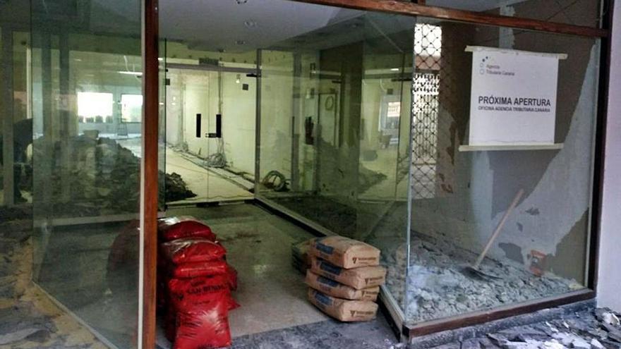 La Agencia Tributaria Canaria descarta abrir la oficina que habilitó hace 3 años