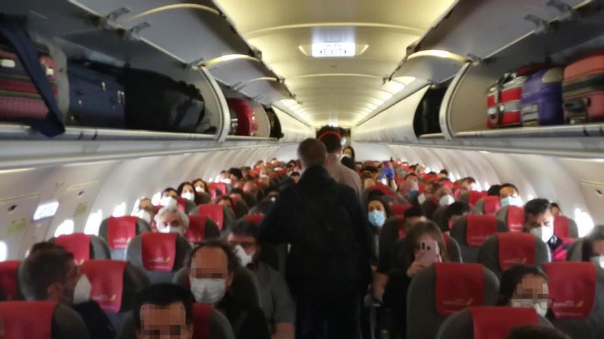 La Guardia Civil denuncia a Iberia y Air Europa por no cumplir las medidas sanitarias