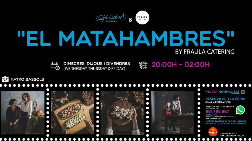 El MATAhambres by Frau la - Catering