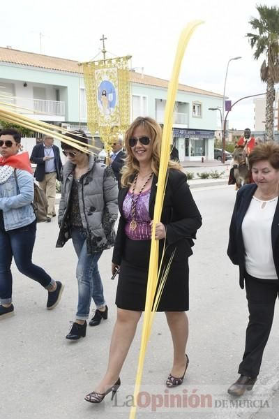 Procesión de Domingo de Ramos en La Hoya