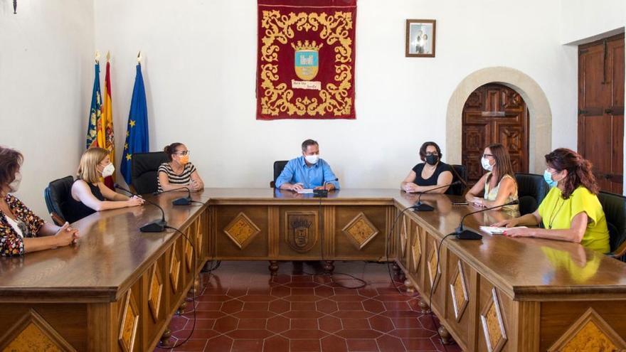 La vicepresidenta de la Diputació visita Albalat dels Sorells