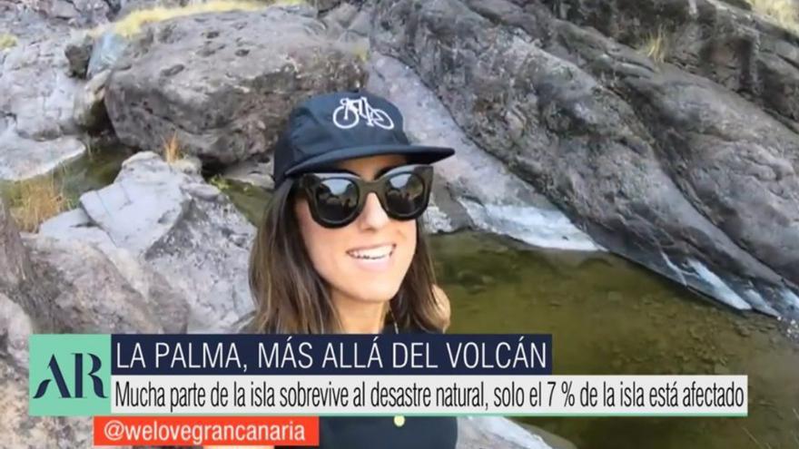 Telecinco muestra un vídeo de Gran Canaria para invitar a hacer turismo en La Palma