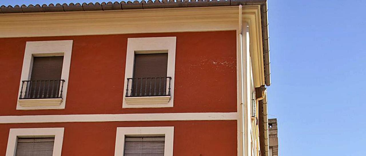 Casa en venta en Carcaixent en una imagen  de ayer.  perales iborra