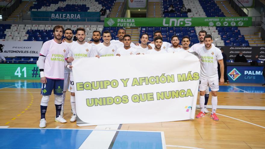 El Palma Futsal derrota al Peñíscola en el Palau de Son Moix