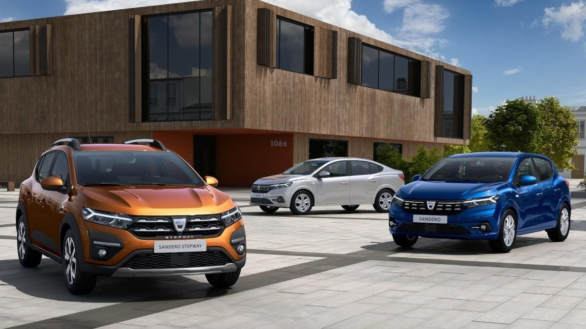 Primeras imágenes de los nuevos Dacia Sandero y Logan 2020