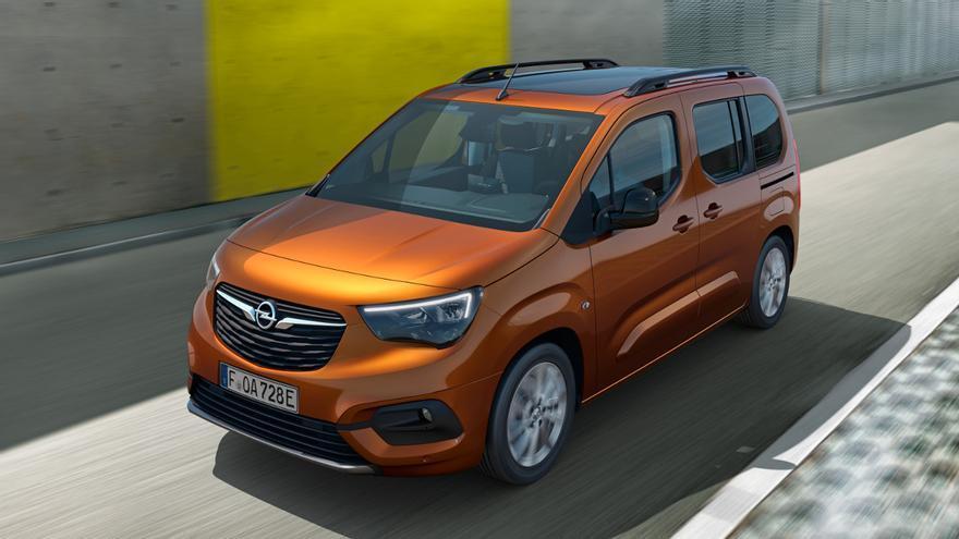 Opel abre los pedidos del versátil y eléctrico Combo-e Life