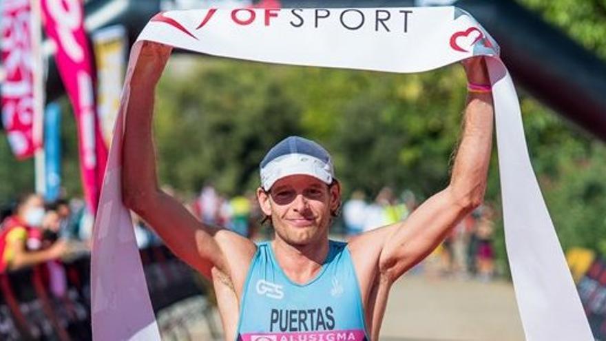 Camilo Puertas logra su cuarto título andaluz de triatlón en distancia olímpica