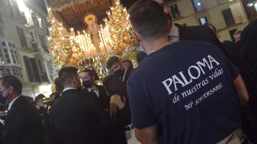 La Paloma vuelve a recorrer las calles de Málaga