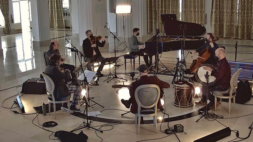 El cello predilecto de Carlos Núñez