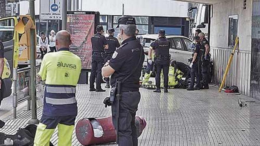 La Policía Local de Palma intervino en 4.406 accidentes de tráfico el año pasado