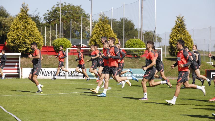 El Sporting ya tiene once para la vital visita al Fuenlabrada