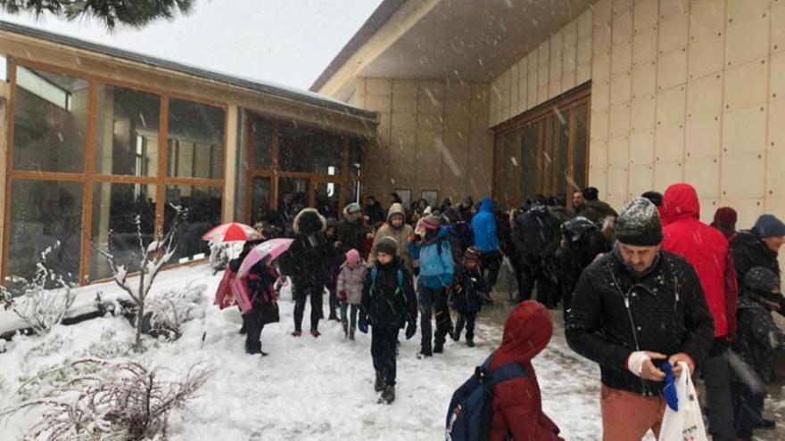 Más de 30.000 alumnos se quedan sin clase por el temporal en la Comunitat