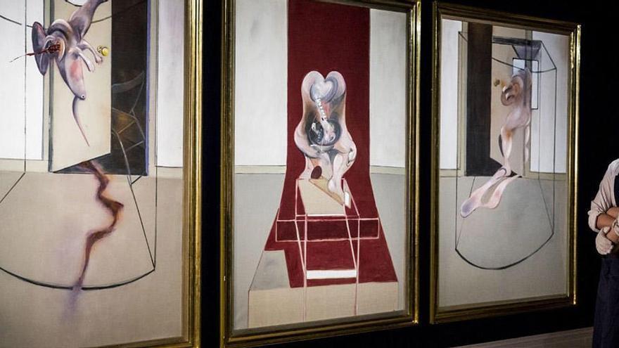 Un tríptico de Bacon alcanza los 75 millones en Sotheby's