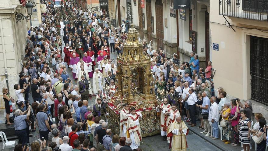 Procesión histórica: La Custodia de la Catedral saldrá a la calle este fin de semana