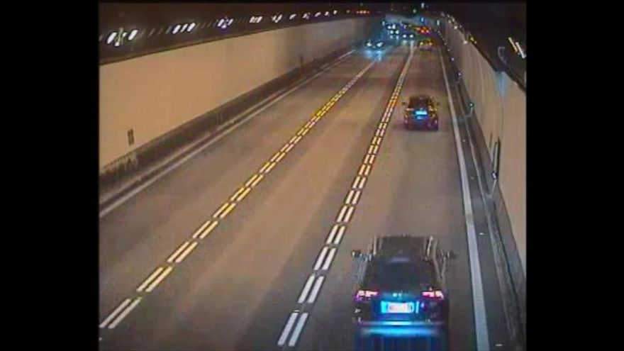 Accident mortal dins dels túnels de Vallvidrera