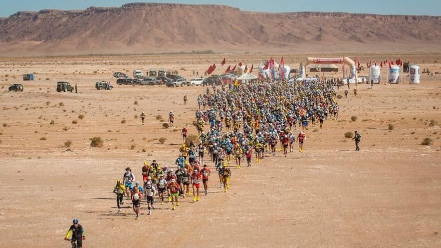 Jaume Salom finaliza en el puesto 17 en el Marathon des Sables