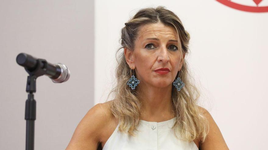 Díaz aprovecha la reunión de Sánchez con fondos americanos para reivindicar la reforma fiscal