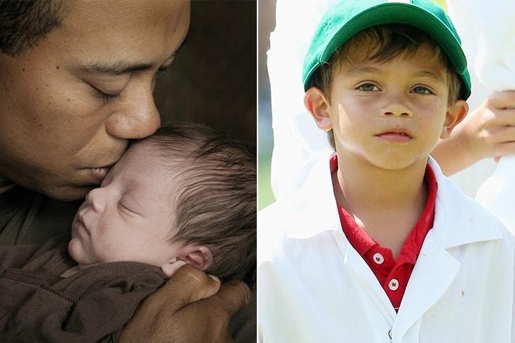 """Charlie Axel, el segundo """"hole in one"""" de Tiger Woods."""