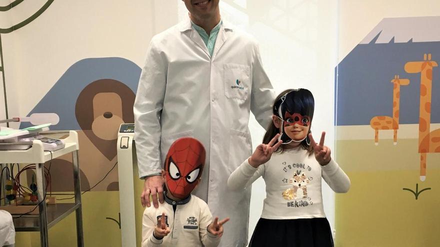 El hospital Quirónsalud Córdoba celebra el Carnaval con sus pacientes pediátricos