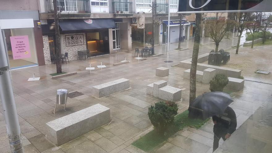 Restricciones Baiona plantea cubrir todas sus terrazas