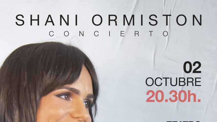 Shani Ormiston presenta nuevo disco en el Teatro Municipal de Torrevieja