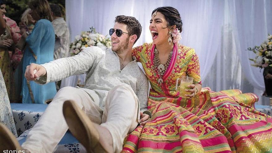 Cuatro días de boda para Priyanka y Nick Jonas