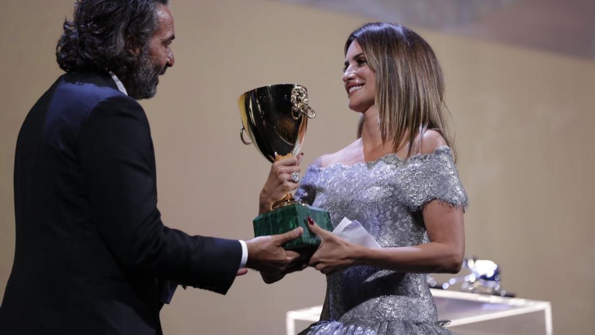 Penélope Cruz, millor actriu a la Mostra de Venècia